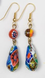 EARRINGS 8516 M 12X23 300