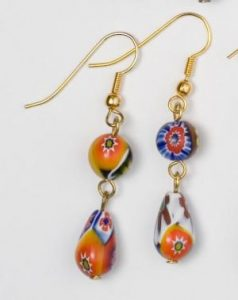 EARRINGS 8516 M 8X12 300