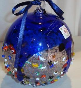 Christmas Ball Blue 010