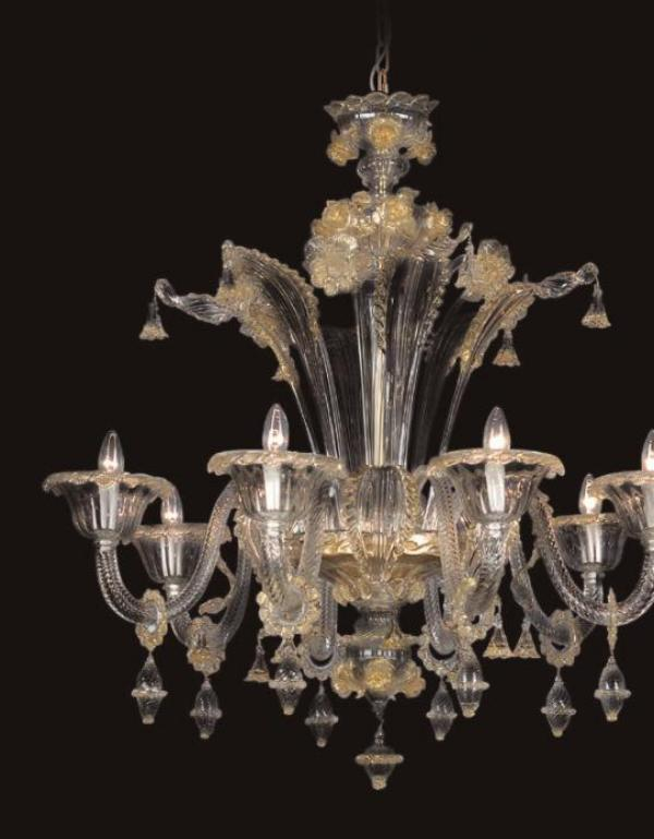 Chords Chandelier - Made Murano Glass - Original product ...