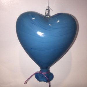 Heart Balloon Blue