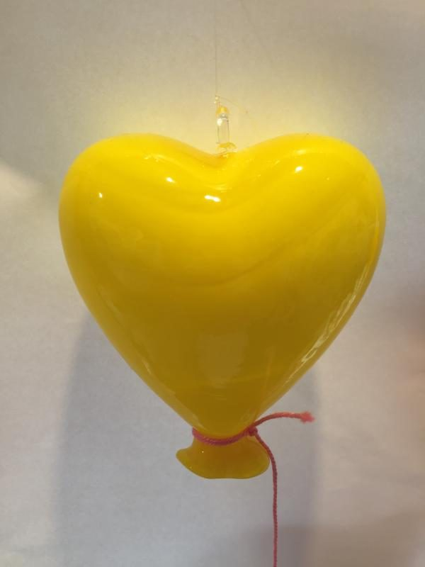 Heart Balloon Lemon